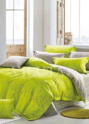 Двухспальный комплект постельного белья № 17106