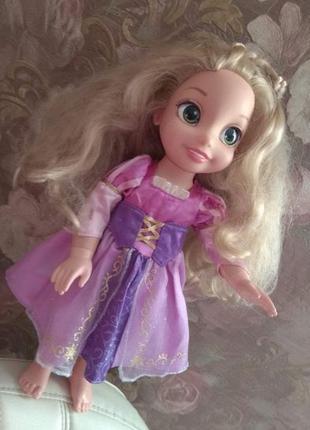 Дисней кукла Рапунцель на шарнирах в отл состоянии Disney ориг...