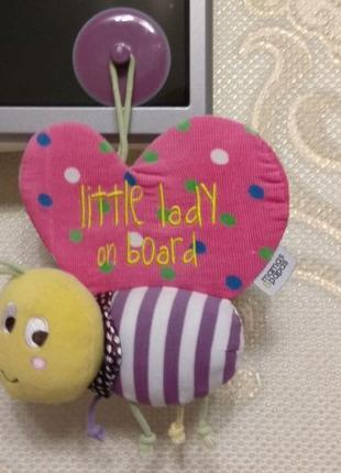 Mamas&papas игрушка на присоске авто Lady on board ребенок на ...