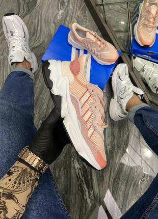 Женские кроссовки adidas ozweego адидас весна осень лето