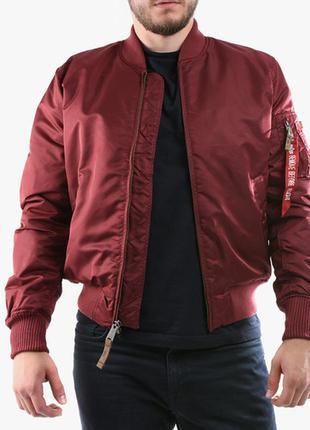 Куртка- бомбер  с последней коллекции alpha industries ® ma-1 ...