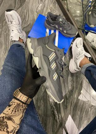 Женские кроссовки adidas ozweego адидас весна осень лето кожа