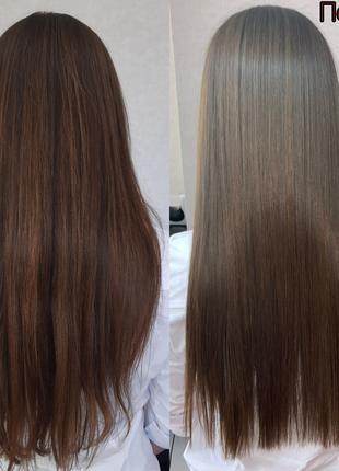 Кератиновое выпрямление волос, Ботокс, Нанопластика, Биксипластия
