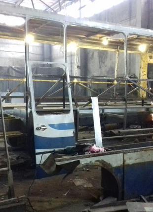 Капітальний ремонт автобусів післе ДТП