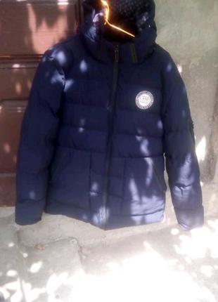 Мужская зимняя куртка размер 52