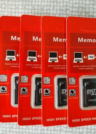 Карта памяти OSMR MicroSD 32 GB ( 128 256 ) Class 10 +Adapter