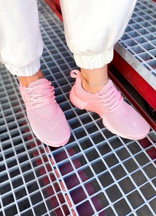 "Женские кроссовки nike air presto ""all pink"""