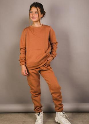 Детский теплый спортивный костюм наложенный платеж