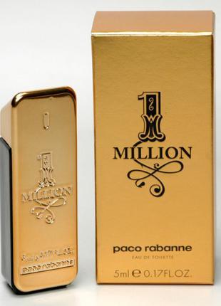 Миниатюра paco rabanne 1 million