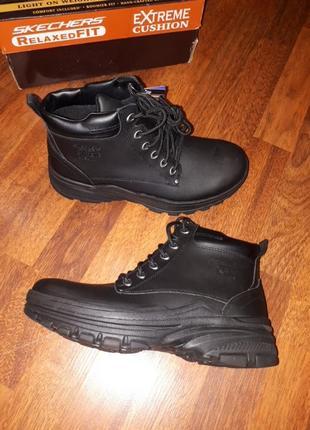Утепленные ботинки skechers m7