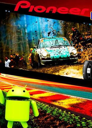 GPS навигатор Pioneer на Android 10+ВИДЕОРЕГИСТРАТОР! 7 3G, 2SIM