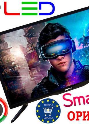 Мощный 4K телевизор SmartTV 32, Германия, оригинал! IPTV, T2, LED