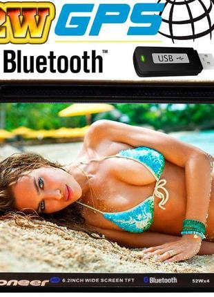 Автомагнитола Pioneer 6910 2DIN, DVD+CD, GPS, FM, AUX 4x52W