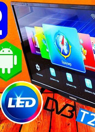 "Телевизор SmartTV Samsung 32"" 4K,LED, IPTV, Android9,UACRF! КОРЕЯ"