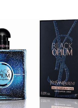Миниатюра yves saint laurent black opium intense