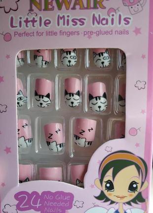 Накладные ногти для детей