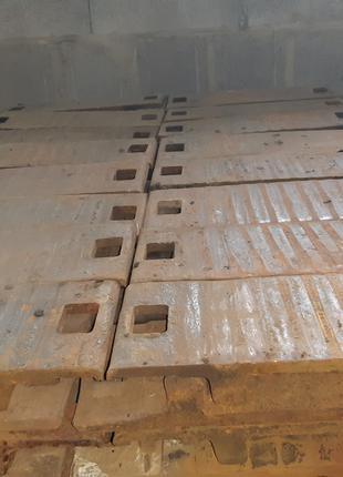 Подкладка кб-65 и кб-50 б/у жд под рельс