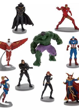 Набор фигурок Мстители Marvel / Avengers Deluxe Figurine Play Set
