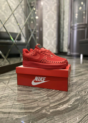 Кроссовки Nike Air Force Low Red Black 41-45