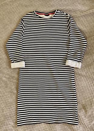 Стильное платье в полоску topshop / s