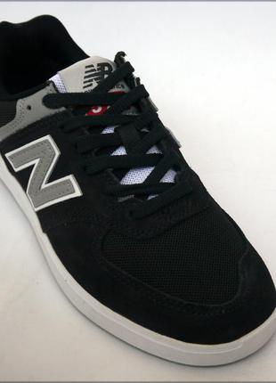 New balance 574 черные кроссовки замша оригинал