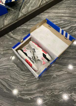 Кроссовки Adidas Nite Jogger White Pink 36-40
