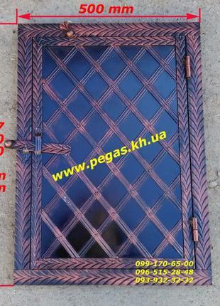 Дверка печная под коптилку металлическая, барбекю, мангал