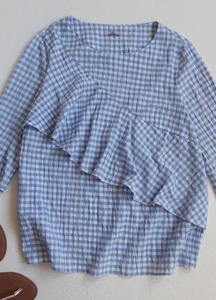 Роскошная блуза с воланом