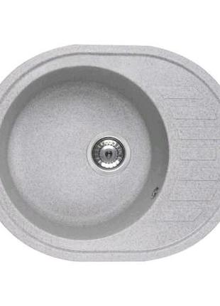 Кухонна мийка Ventolux MONICA (GRAY GRANIT) 620x500x200 Мойка