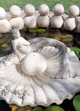 "Фонтан ""Жемчужина "" из керамики"