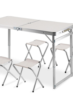 Стол для пикника +4 стула