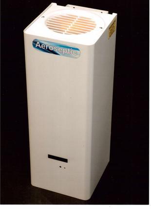 Фотокаталітичний очисник та знезаражувач повітря