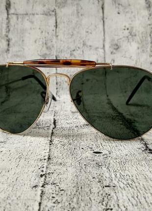 Винтажные солнцезащитные очки ray ban aviator, made in usa,ори...