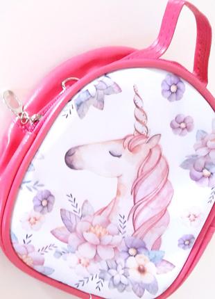 Сумка рюкзак экокожа unicorn