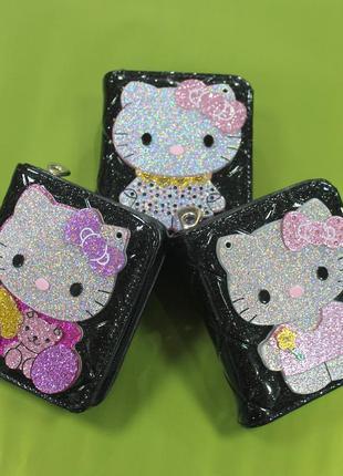 Кошелек, детский кошелек, эко кожа, кошелек для девочки, зерка...