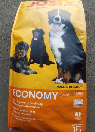 Акция!!!! Корм для собак Josera ЙОЗЕРА JOSIDOG ECONOMI 15 кг