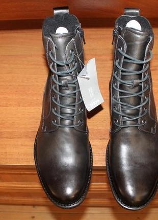 Ботинки высокие ecco newcastle