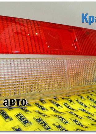 Стёкла задний фонарь 2107 красно белый