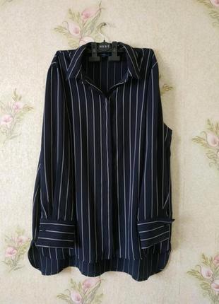 Женская блузка рубашка большого размера # женская рубашка в по...