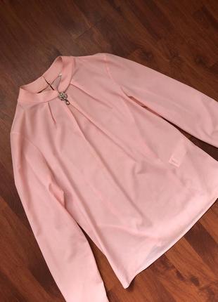 Шикарная нежная блуза