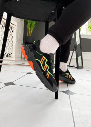 Кроссовки adidas ozweego multicolored