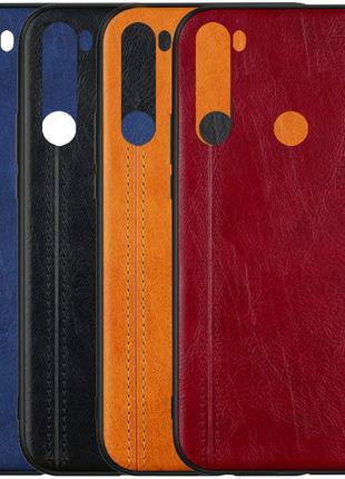 Кожаный чехол Line для Xiaomi Redmi Note 8T