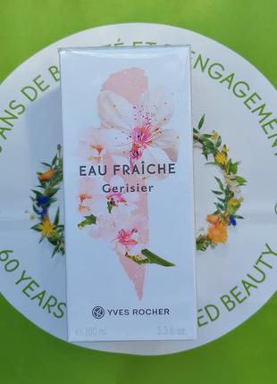 Вишневый цвет туалетная вода 100мл Ив Роше Yves Rocher