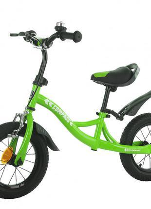 Велобег, беговел Balance Tilly T-21258 Compass Green, надувные ко