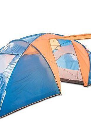 Туристическая палатка Coleman 1002 6-ти местная. 2-х слойная.