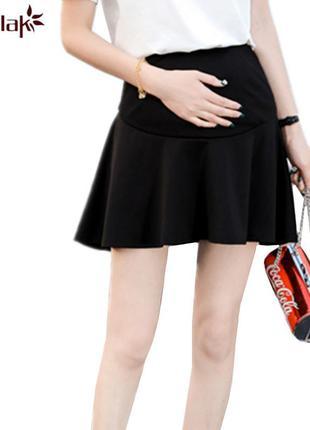 Трикотажная юбка для беременных, солнце, хлопок