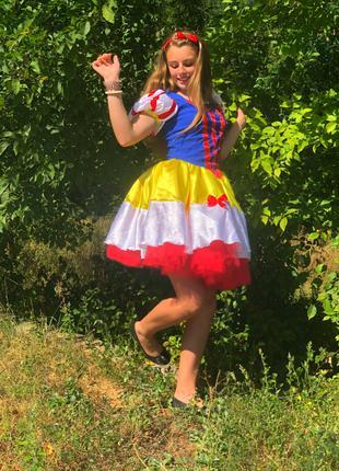 Карнавальный костюм Принцесса Белоснежка прокат продажа