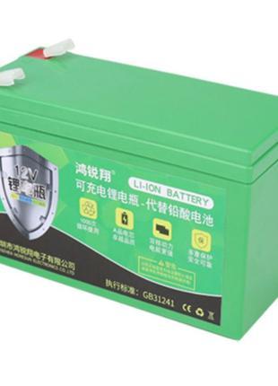 Литий-ионный аккумулятор 12 Ач 12 В с зарядным устройством для...