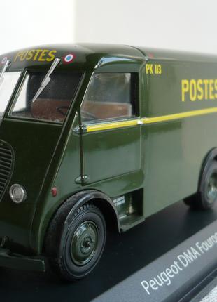 Peugeot DMA почтовый фургон 1:43 Norev