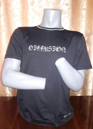 🔥🔥🔥стильная мужская футболка diffusion🔥🔥🔥